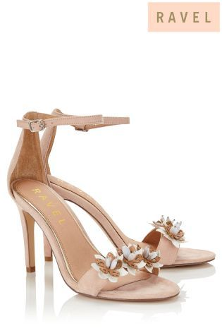 Buy Ravel 3D Floral Heeled Sandals from the Next UK online shop