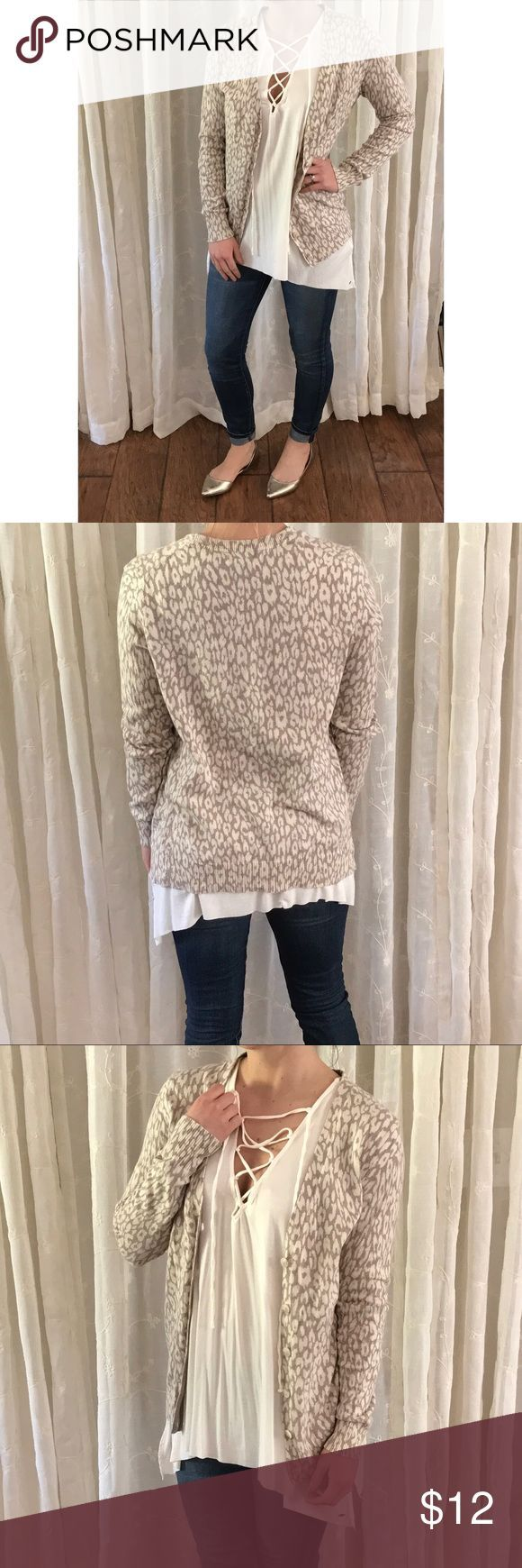 cool Tendance salopette 2017 - GAP Beige + Cream Leopard Print Cardigan GAP beige + cream leopard print. Longer... Check more at https://listspirit.com/tendance-salopette-2017-gap-beige-cream-leopard-print-cardigan-gap-beige-cream-leopard-print-longer/
