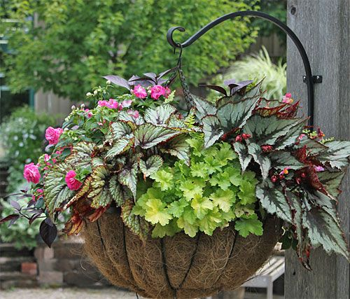 How to Create Sensational Pots and Planters...also a list for choosing the right plants, which ones prefer sun, shade etc