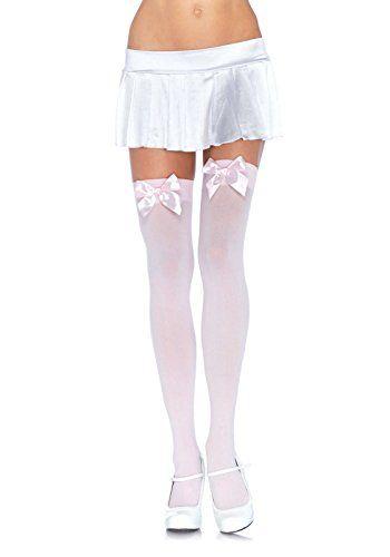 Leg Avenue Women's Opaque Thigh High Stockings with Satin... https://www.amazon.com/dp/B000WZD0DC/ref=cm_sw_r_pi_awdb_x_-u1TybYX3TTC2