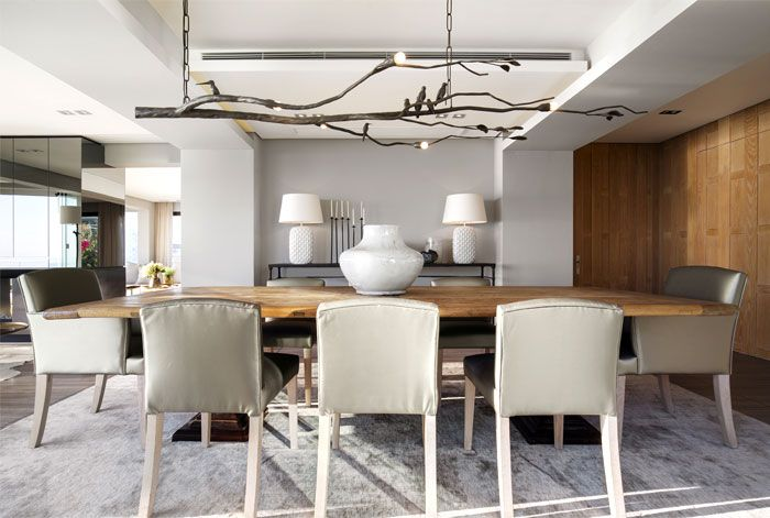 Luxury Holiday Retreat By Arrcc Timber Dining Table Dining