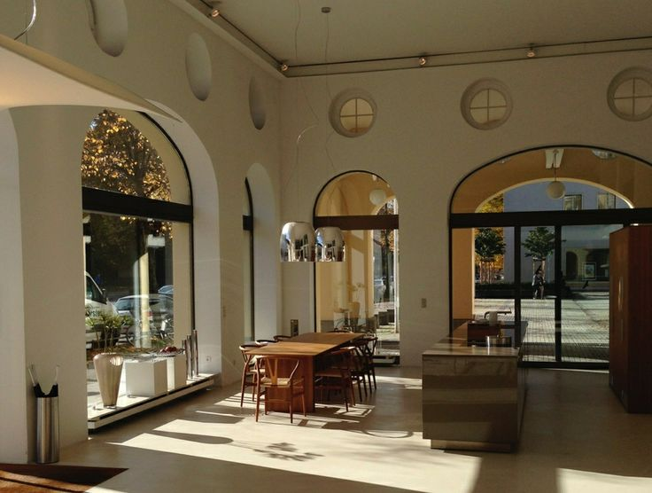 #Notte suspension lamps by #Prandina at Bulthaup showroom in Munich  www.prandina.it