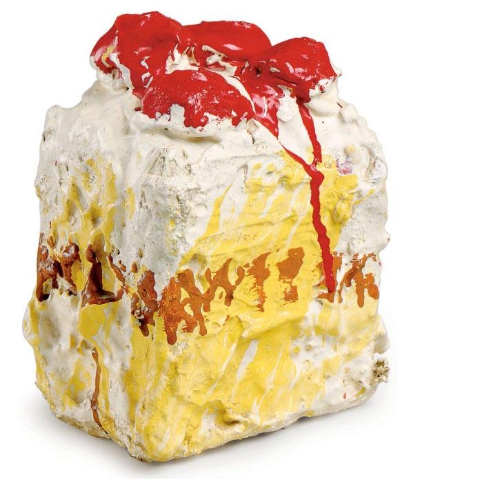 Claes Oldenburg Strawberry Shortcake 1961