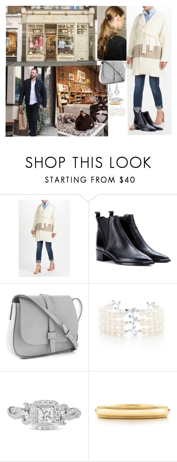 """""""Going shopping for baby clothing at at Rachel Riley afterwards going shopping for nursery"""" by pacqueline-ngoya ❤ liked on Polyvore featuring Rachel Riley, Acne Studios, Gap, Tiffany & Co. and Vera Wang"""