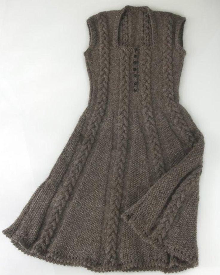 Icon Dress Strickanleitung von Purl Alpaca Designs | Strickmuster | LoveKni …