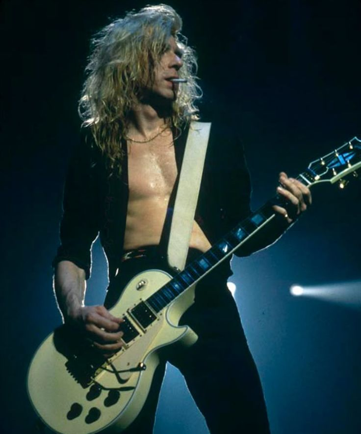 The late Steve Clark, original guitar legend from Def Leppard   -  #defleppard