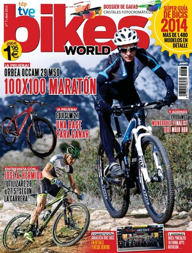 """Bikes World - April 2014 : AL ALCANCE DE TODOS MONDRAKER FINALIST No todo es gama alta en Mondraker. La marca alicantina nos ofrece bicicletas económicas que esconden algunos secretos y muchos argumentos para convertirse en nuestra primera """"gran"""" aliada, LISTA PARA COMPETIR FUJI SLM 29 2.1 Fuji está tratando de hacerse un hueco en nuestro mercado. En este caso te presentamos la SLM 29 2.1, que aúna espíritu racing con unos ...   More"""
