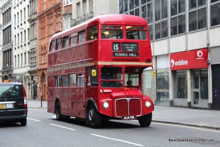 Petite balade à Londres à bord du Bus Vintage n°15
