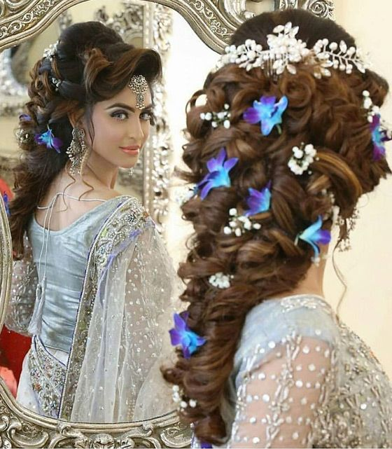 25+ Best Ideas about Indian Bridal Hairstyles on Pinterest ... - photo #40
