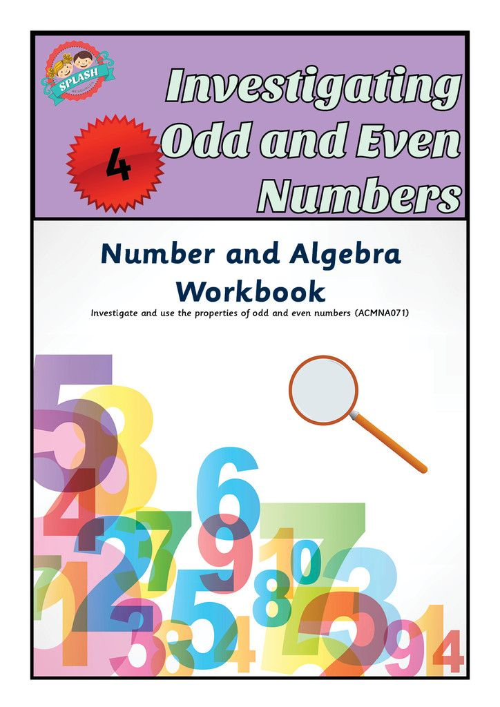 Number: Investigating Odd and Even Numbers Workbook