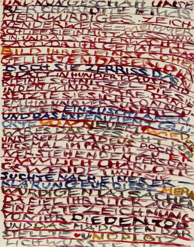 * Charlotte Salomon, from Life? or Theater? 1940-1943 Gouache on paper. (Courtesy Reading Charlotte Salomon) Beyond the thematic complexity, the inventive compositions and fetching use of color the most intriguing aspect of Life? or Theater? is the message embodied by the work itself. Four-months pregnant, Salomon was murdered, almost certainly upon her arrival, at Auschwitz in 1943. Thus, Life? or Theater? exists as a most poignant reminder that art is tangible evidence of a life lived.