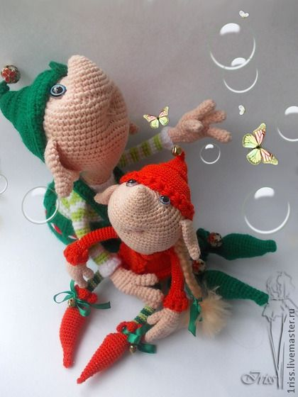 Amigurumi Hello Kitty Free Pattern : Funny Gnome Pattern by Iriss crochet Pinterest