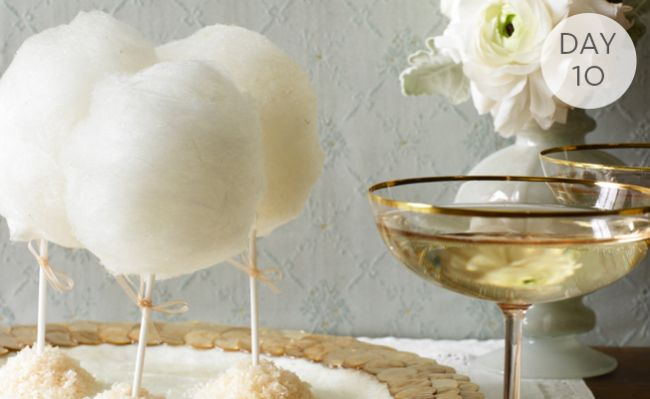 Inspiration of the Day: Cotton-CandyLollipops