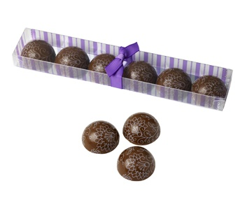 thorntons chocolate truffle domes
