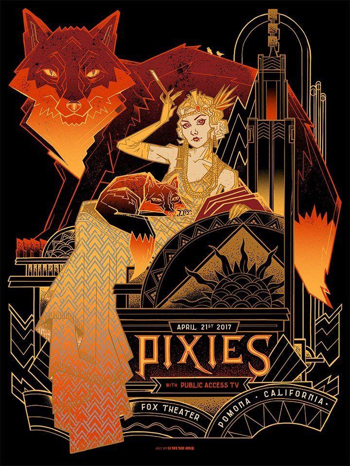 Pixies - Munk One - 2017 ----