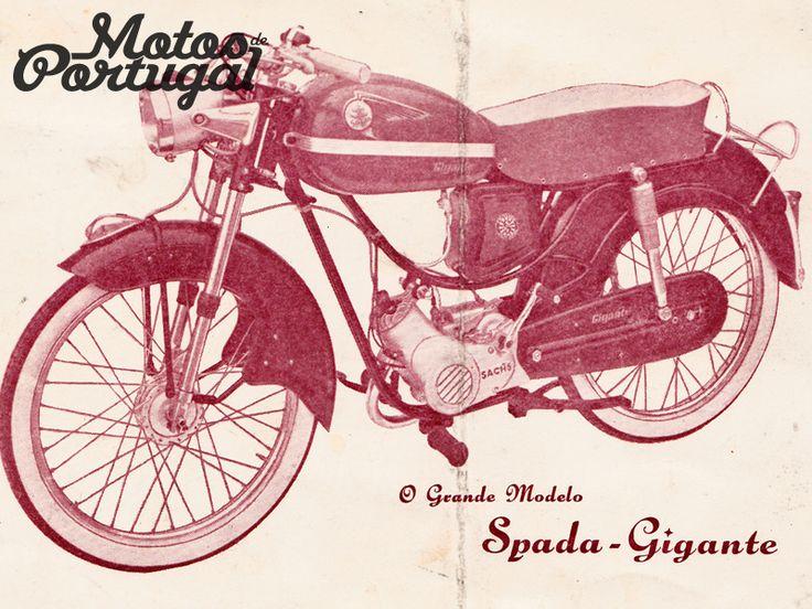 OSP Sachs Spada Gigante, Portuguese vintage moped