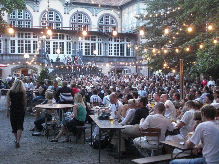 HANNOVER List Lister Turm - Biergarten in Hannover hanover germany