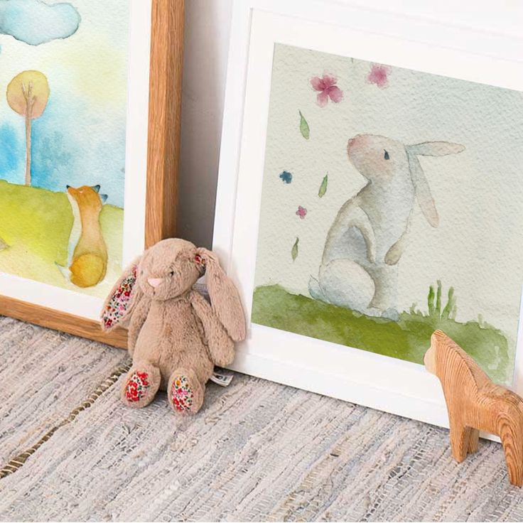Obras de Amaya Rojas / Baby Room / Illustration