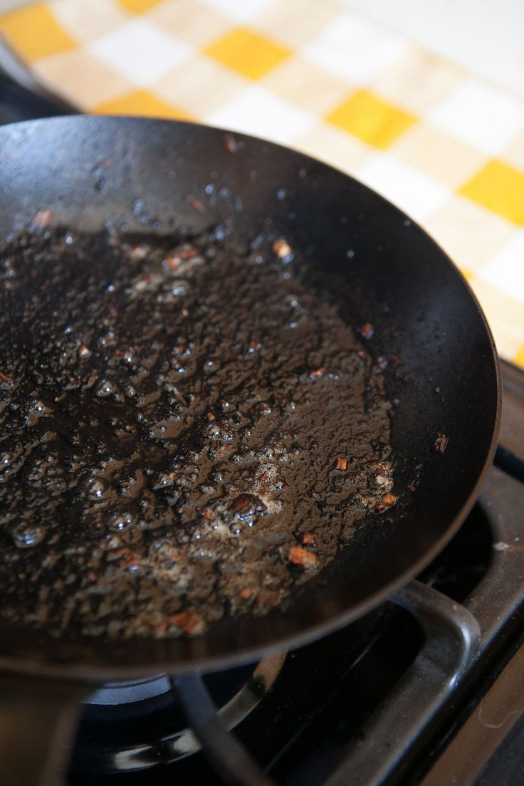 If Your Carbon Steel Pan Looks Like This, Don't Freak Out — Pan of Iron, Pan of Steel