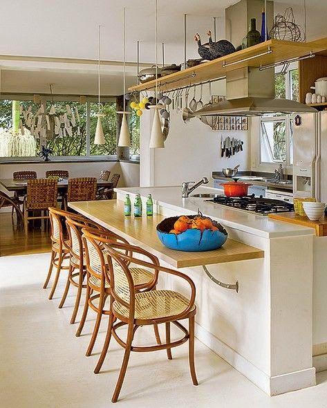 Decore Sua Mente, Seu Corpo E Seu Espaço: Cozinhas Gourmets: Funcionais E  Divertidas · Extension IdeasDecorating IdeasKitchensSalad ... Part 94