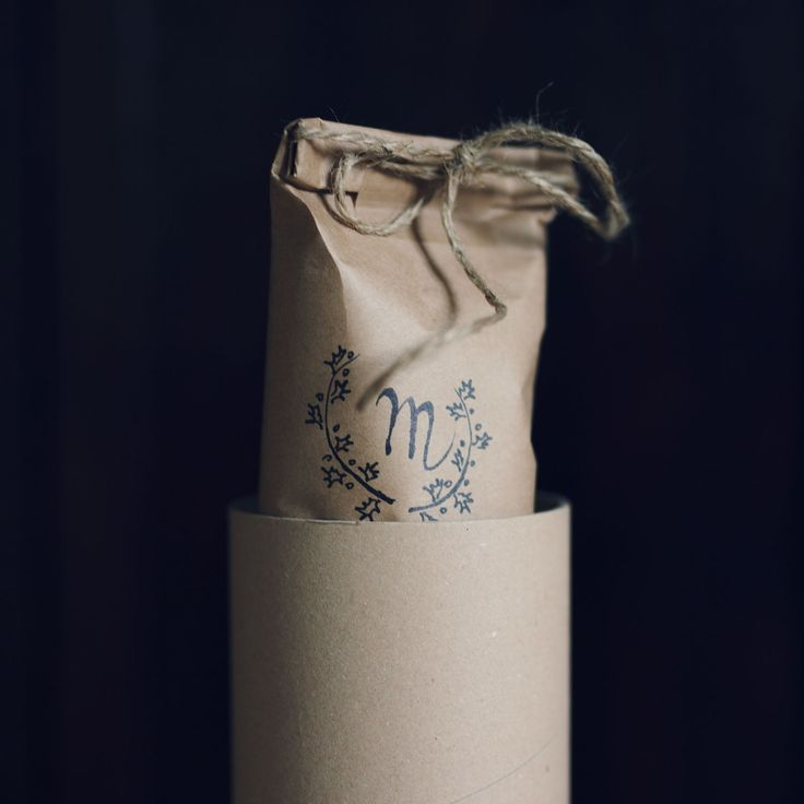 Packaging design for WeArePL - Polish slow fashion brand. Ecological, simple and fully personalized! Hand lettering included!