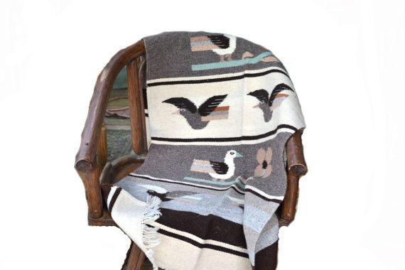 Southwestern Rug Southwestern Tapestry Navajo by JudysJunktion