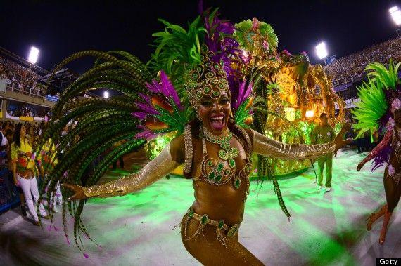 Carnival, Rio di Janeiro, Brazil