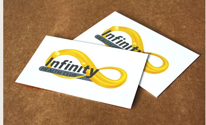 Infinity Health Club - Business Cards