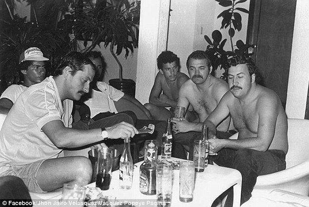 Inside man: In a new book called 'I Survived Pablo Escobar', Vasquez reveals…