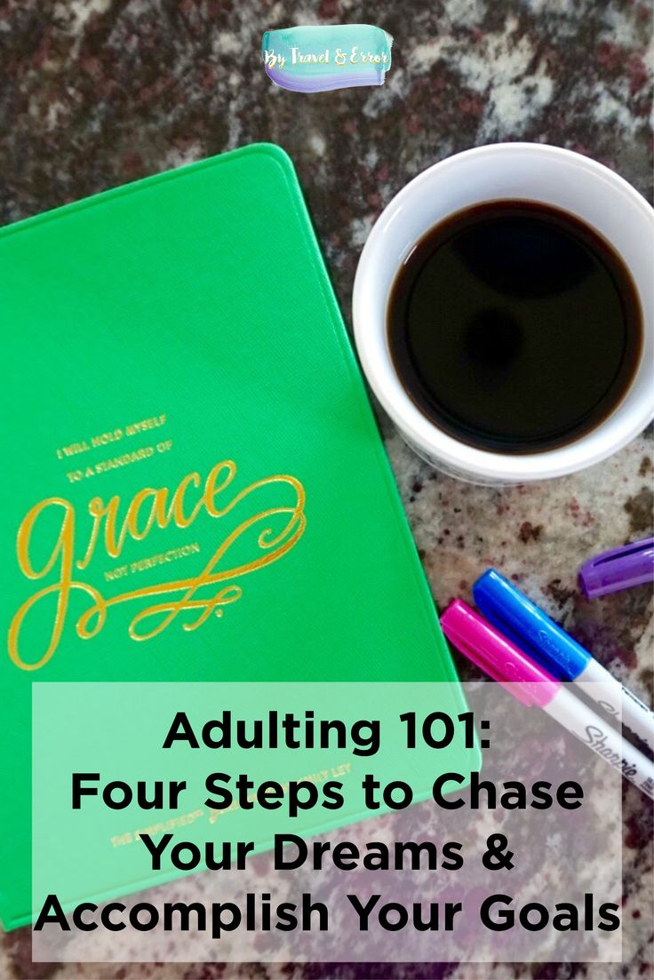 """How many people do you personally know that honestly can say, """"I LOVE my job. I currently work at my dream job.""""? Hear that sound? Crickets. Today I want to talk a bit about four different steps you can take to chase your dreams & accomplish your goals."""