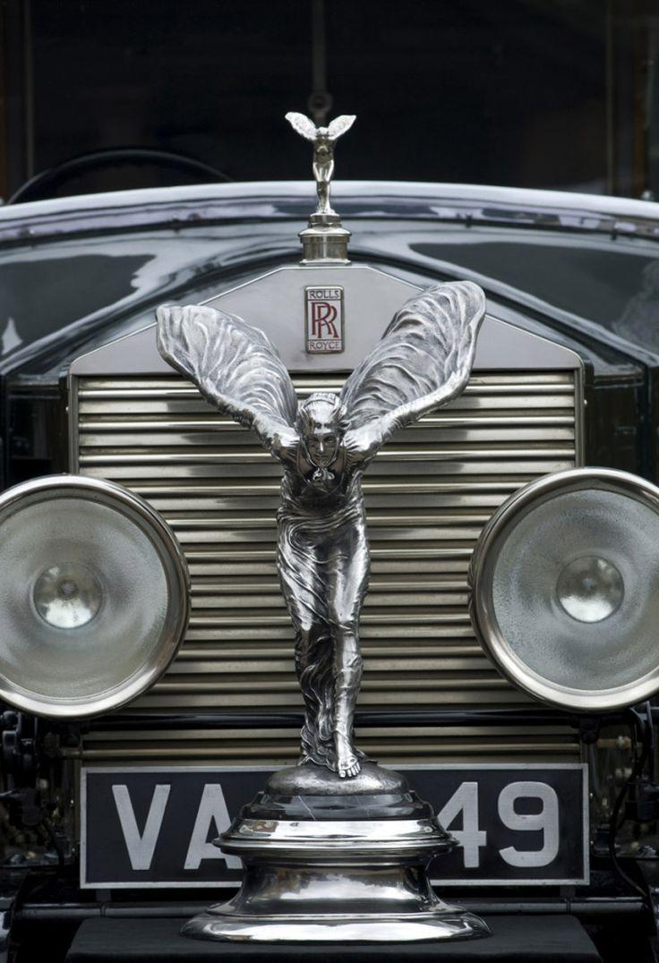Cool hood ornaments - 1926 Rolls Royce Luxury Lifestylehood Ornamentscool
