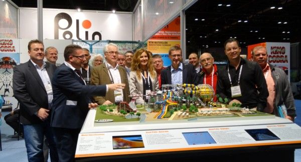 Sohret Pakis of @Paulina Briones Waterparks at the 2013 IAAPA Expo. #Polin #Waterparks
