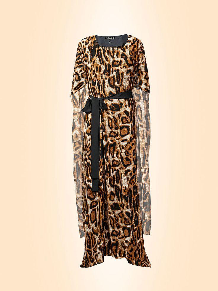 Платья с леопардовым принтом