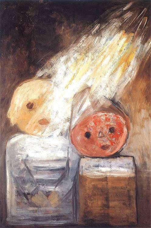 Tadeusz Makowski - Promień słońca / Ray of sun, 1930.