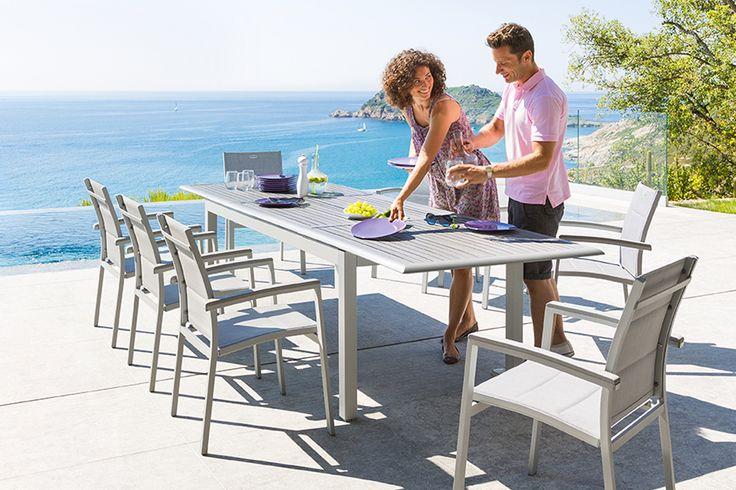 Table extensible Azua - HESPERIDE.fr