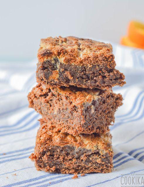 Tahini Brownies with Halva Crumble