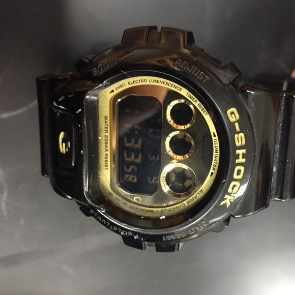 Casio g-shock price highly negotiable. Black and gold G-Shock Other