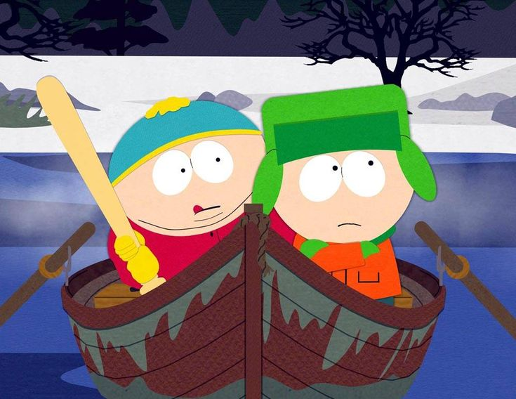South Park art | South Park Picture - Picture of Cartman and Kyle on South Park