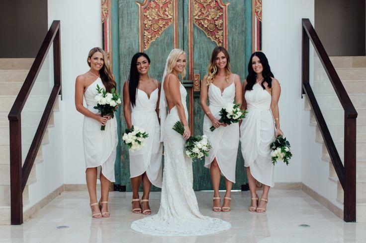 mismatched chiffon 2019 new white short cheap bridesmaid dress,discount Glamorous bridesmaid dress 2016,FS064 from romanticdress