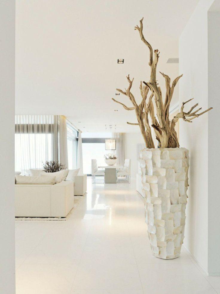 Grand Vase Blanc Design