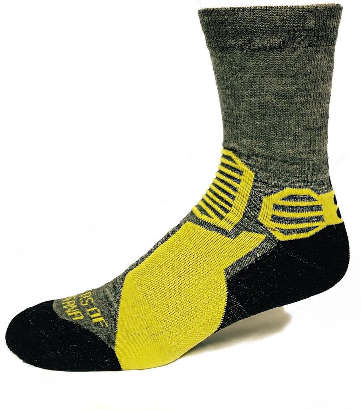 Mountain Crew Hiking Socks - Wicking, Soft, Durable