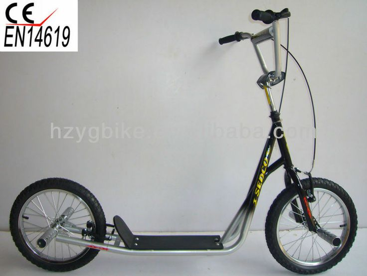 16 Inch Specialized Big Wheel Popular Freestyle BMX Scooter/Kick Scooter for adults $29~$39