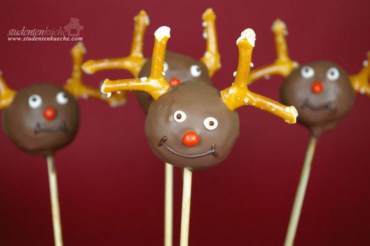 Rezept: Weihnachtliche Cake Pops aus Schokoladenlebkuchen