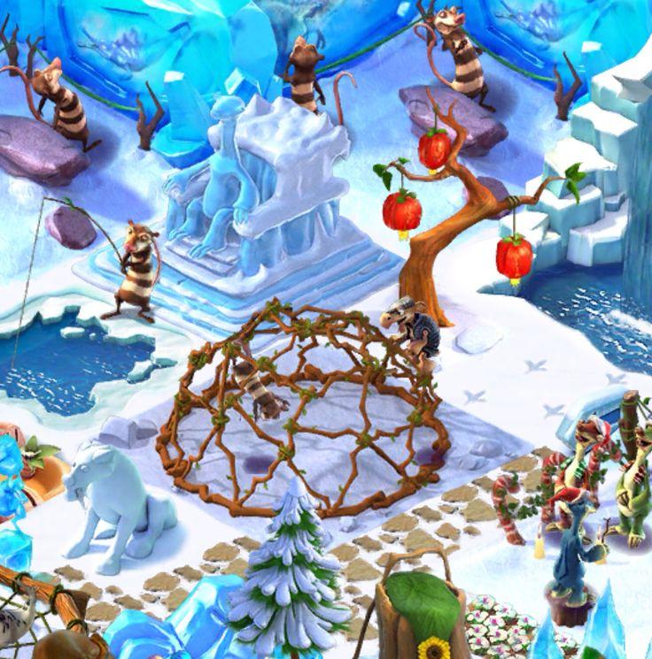 Ice Age Village... Gimnasio de la selva 6