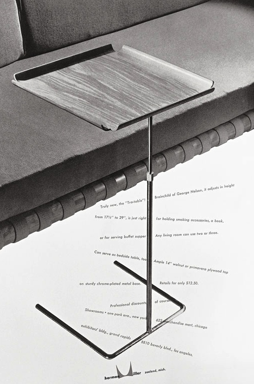 Tray Table - George Nelson - Vitra / Herman Miller