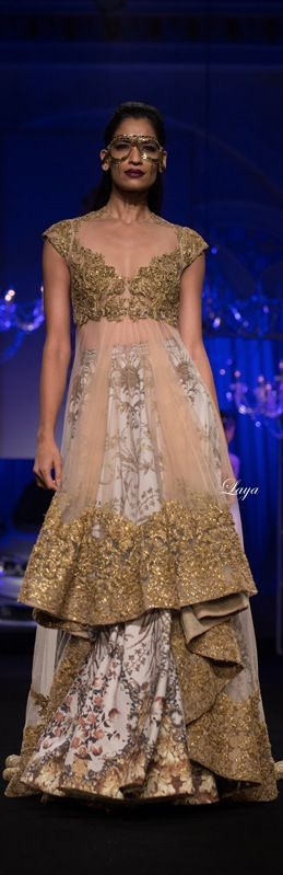 Falguni & Shane Peacock at BMW India Bridal Fashion Week 2014