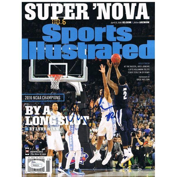 Kris Jenkins Autographed Villanova Basketball Signed Sports Illustrated SI Magazine Shot JSA COA 4