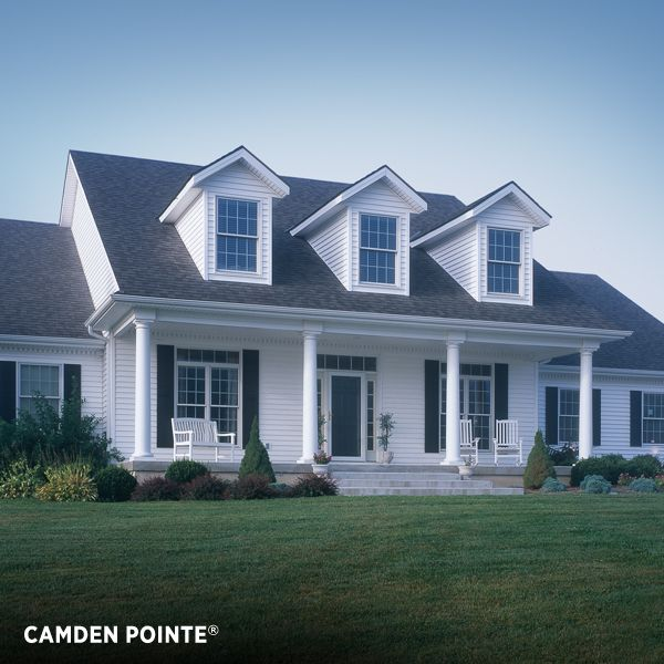 Vinyl Siding Exterior. Camden Pointe From Variform, A Premium Siding Panel  Thatu0027s Practically Weatherproof