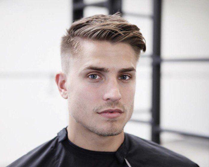 coupe de cheveux court homme - coiffure homme dégradé