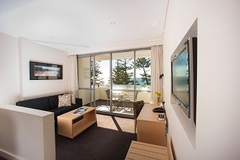Spacious Superior Family rooms consist of a separate bedroom with twin beds and a queen bed in the main living area individually air conditioned LCD TV, In-room safe, mini-bar and features a large furnished balcony. Perfect for a family getaway.